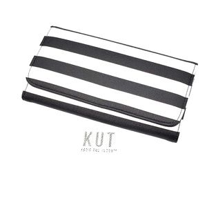 Slim Striped Wallet